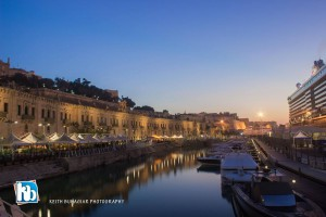 early morn valletta watefront Keith Buhagiar photography