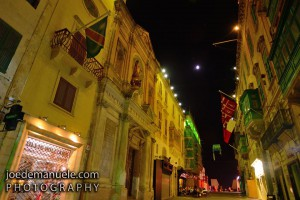 one of the many beautiful streets in valletta Joe Demanuele Photography
