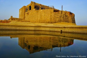 reflections at qolla l-bajda battery in gozo lawrence micallef