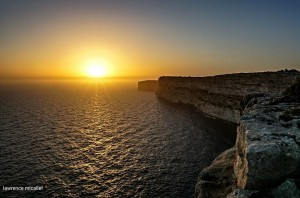 sunset ta cenc gozo lawrence micallef